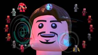 Lego marvel avengers le armature di iron man