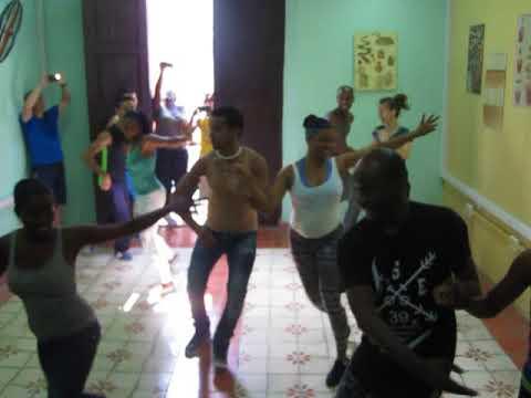 CUBAN ALLSTARS stage SALSEROS CUBANOS in Santiago de Cuba