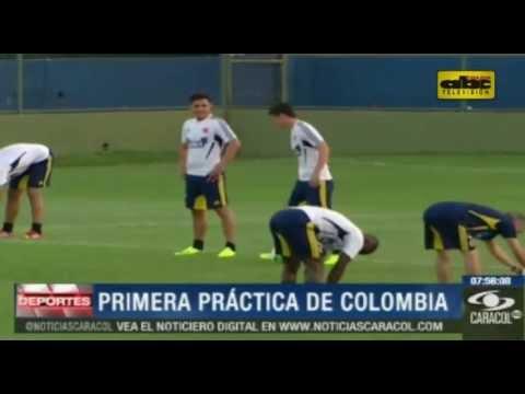 La selecci�n colombiana visita a Paraguay con las bajas de Falcao y Cuadrado
