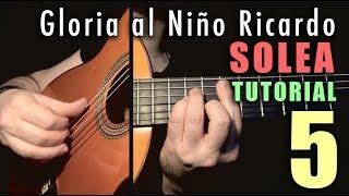 Mixed Technique Exercise - 12 -  Gloria al Niño Ricardo (Solea) by Paco de Lucia