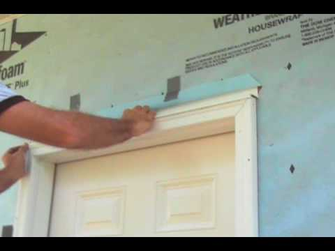 Correctly Flashing and Caulking an Exterior Door & Correctly Flashing and Caulking an Exterior Door - YouTube