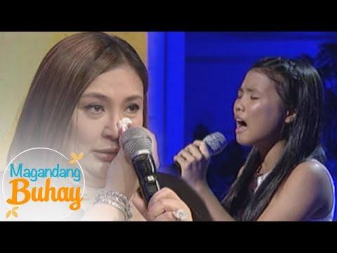 """Magandang Buhay: Sharon gets emotional as Antonette sings """"Pangarap ng Bituin"""""""