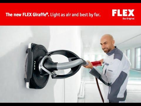 Flex Giraffe GE5 & GE5R Drywall Sander - English