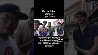 Lucas and Marcus visit the PhoneDoctor.