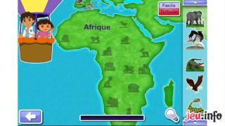 Jeu Dora l'Exploratrice Le Safari de Dora et Diego iPhone