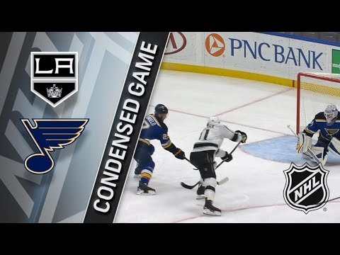 Los Angeles Kings vs St. Louis Blues – Dec. 01, 2017 | Game Highlights | NHL 2017/18. Обзор матча