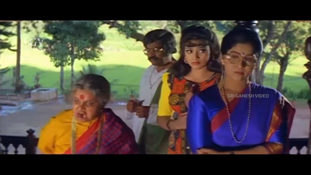 Mother Fix Meena's Marriage With Rich Man Instead of Ravichandran | Putnanja Kannada Movie Part-2
