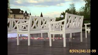 Скамейки белые деревянные в аренду http://выездная-церемония-брака.рф(, 2016-02-20T21:45:50.000Z)