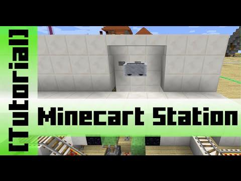 slime-block-minecart-station-[tutorial]-minecraft-1.10