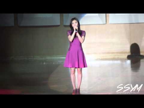 """150110 Ha Ji Won(하지원) sings """"That Woman"""""""