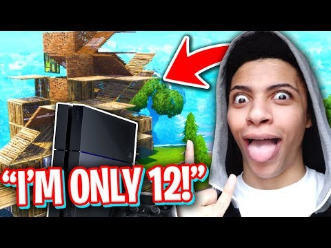 12 YEAR OLD BUILDS FASTER THAN MYTH ON CONSOLE! (BEST FORTNITE CONSOLE BUILDER?)