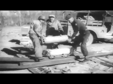 January 1946 Newsreel: Clearing Mines; Joe Louis; Radar, Etc. (full)