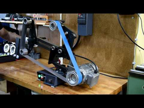 Claryx Metal Works Belt Grinder BG PRO v2 preview/Claryx Metal Works