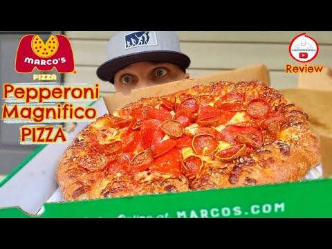 Marco's Pizza® PEPPERONI MAGNIFICO PIZZA Review! 🍕🤗