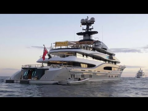 $8 Billion Dollars in Luxury Yachts Floating in Monaco!  (Raw Footage)