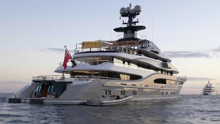 $8 Billion dollars in Luxury Yachts Floating in Monaco!  (Raw Footage)