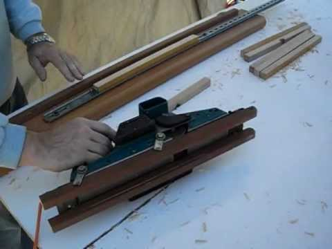 Cepilladora de mesa casera y portatil doovi - Cepillo de carpintero electrico ...