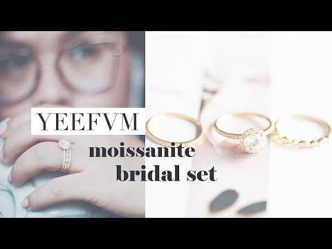 yeefvm-moissanite-bridal-set-unboxing/review