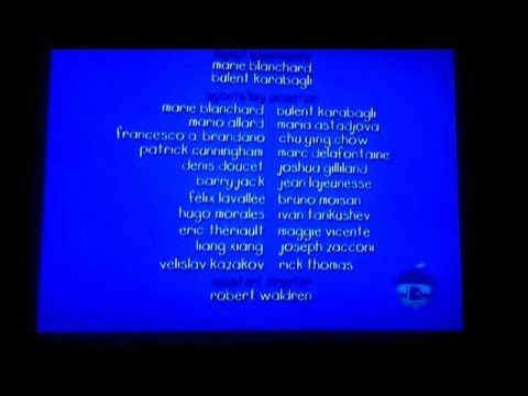 Caillou End Credits 1997