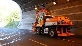 Extreme German Machines to Clean Dirty Roads - Dücker Equipments in Action