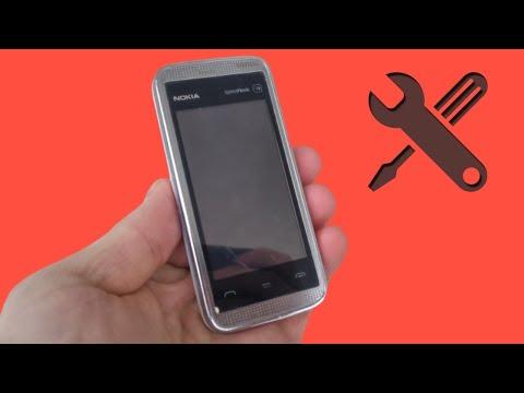 Nokia 5530 XpressMusic Demontaż/Naprawa/Bateria