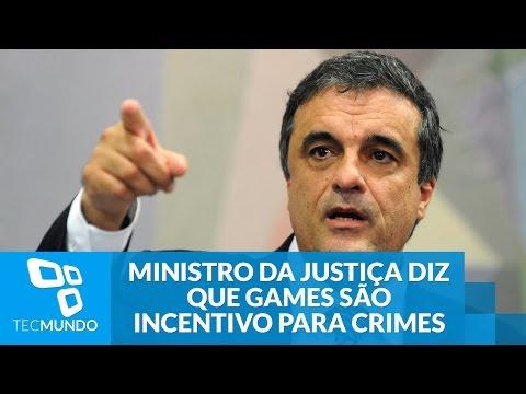Ministro Da Justiça Diz Que Games São Incentivo Para Crimes