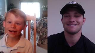 Asher interviews Sage Karam via Skype