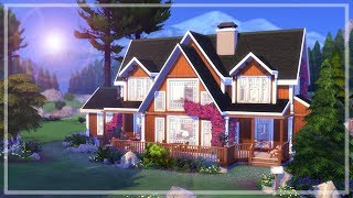 Lakeside Retreat || The Sims 4 Vacation Home - Speed Build