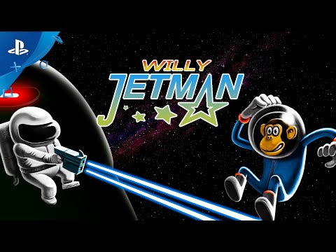 Willy Jetman: Astromonkey´s Revenge - Trailer | PS4