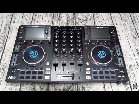 Numark NVII DJ Controller for Serato DJ with Intelligent Dual-Display Screens
