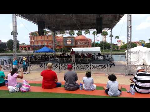 North Central Middle School Band at Universal