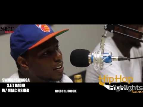 SWIGGI SWAGGA INTERVIEW WITH SET RADIO SPEAKS HIP HOP , REAL