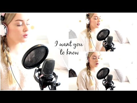 I want you to know ♡ Cover by Amy Lauren