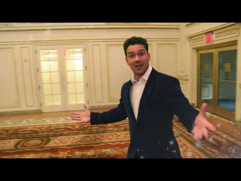 Tour Of The Plaza Hotel With Ryan Paevey - Christmas At The Plaza