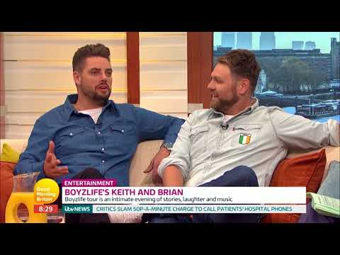 Keith Duffy and Brian McFadden on Their Boyzlife Tour | Good Morning Britain