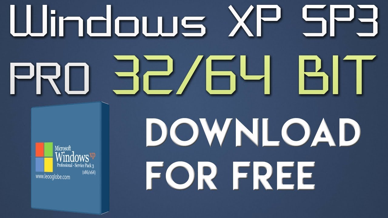 microsoft xp professional service pack 3 download