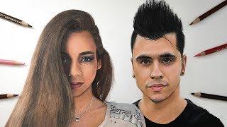 Drawing Christina and Cyrus Dobre