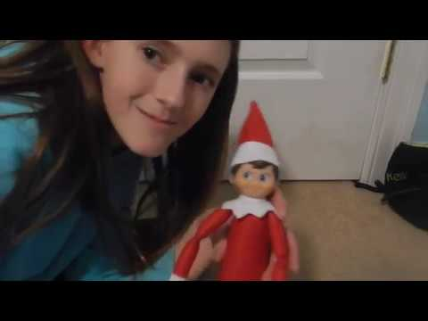 Elf On The Shelf Review and Name Reveal