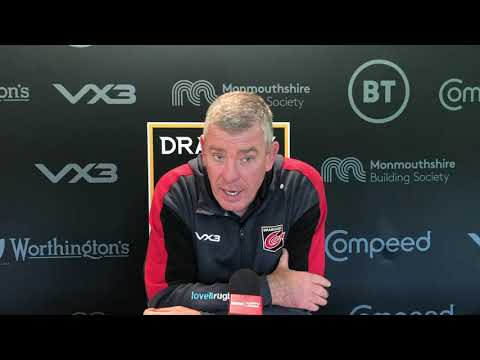 Dragons TV: Dean Ryan previews Glasgow Warriors