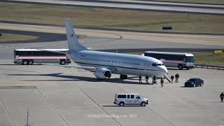 4K | Justice 737 Prisoner Transport Aircraft | Atlanta