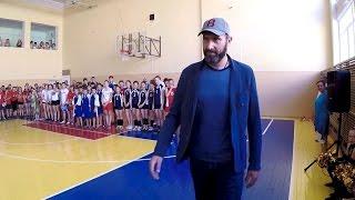 #СелфиНьюс. Урок волейбола от Сергея Тетюхина