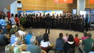 (3 of 10) Gema Chandra Cenderawasih University Choir Indonesia 2012 World Choir Games