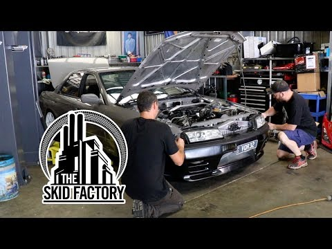 THE SKID FACTORY - Turbo LS1 R32 Skyline [EP8]