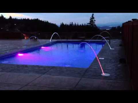 Jandy Laminar Jets. Pool built by Owens Pools & Spas / Oregon - YouTube