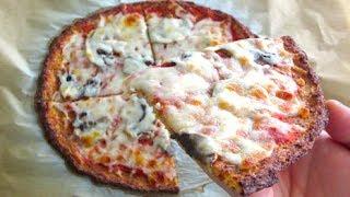 Healthy Cauliflower Pizza!