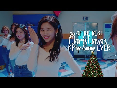 50 of the BEST Christmas KPop Songs