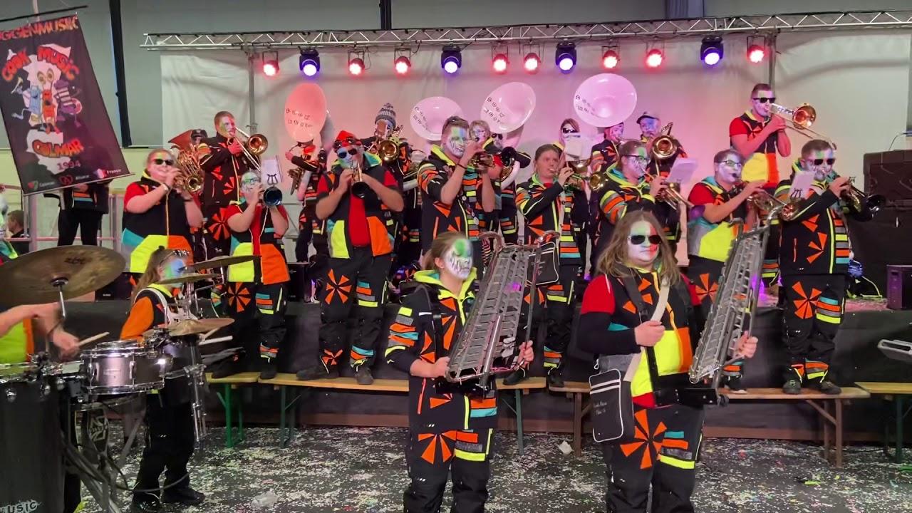 Prestation carnaval de Riedisheim