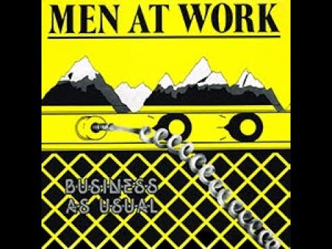 People Just Love To Play With Words MEN AT WORK 1982 LP