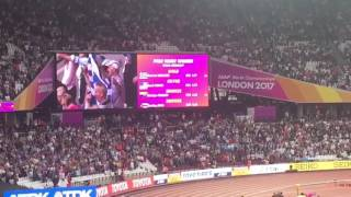 Stefanidi Gold Medal Ceremony - #London2017