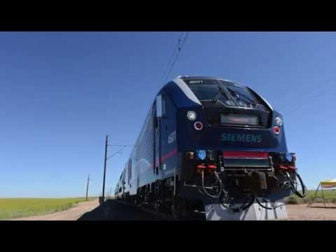A ride in Siemens' new diesel-electric Charger locomotive
